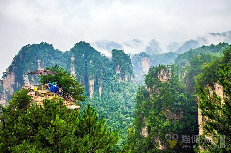 张家界国家森林公园,天门山玻璃栈道,黄龙洞(3日游)
