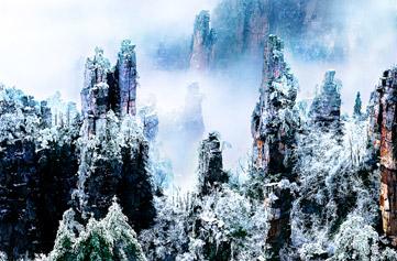 (长沙发团)张家界国家森林公园、 天子山、黄龙洞(3日游)