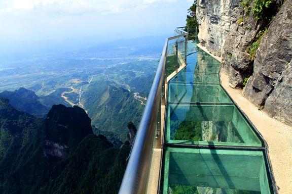 张家界国家森林公园、天门山玻璃桥,韶山毛泽东故居(4日游)